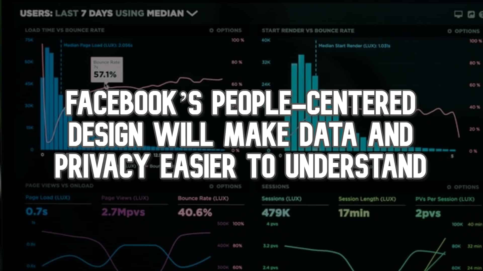 Facebook's People-Centered Design will Make Data and Privacy Easier to Understand
