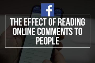 The Effect of Reading Online Comments to People
